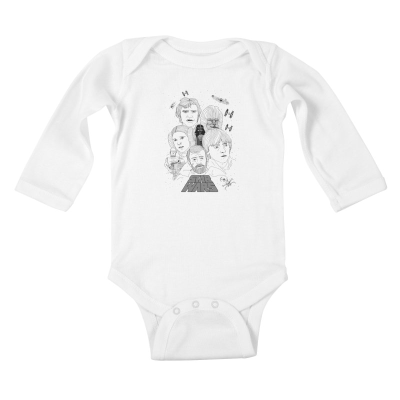 A New Hope Kids Baby Longsleeve Bodysuit by Jumo