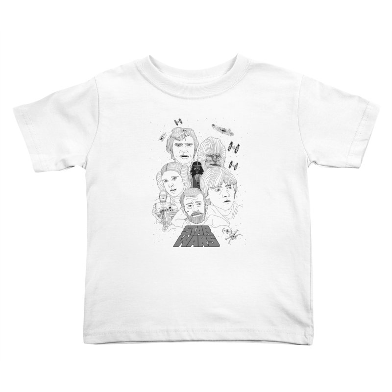 A New Hope Kids Toddler T-Shirt by Jumo