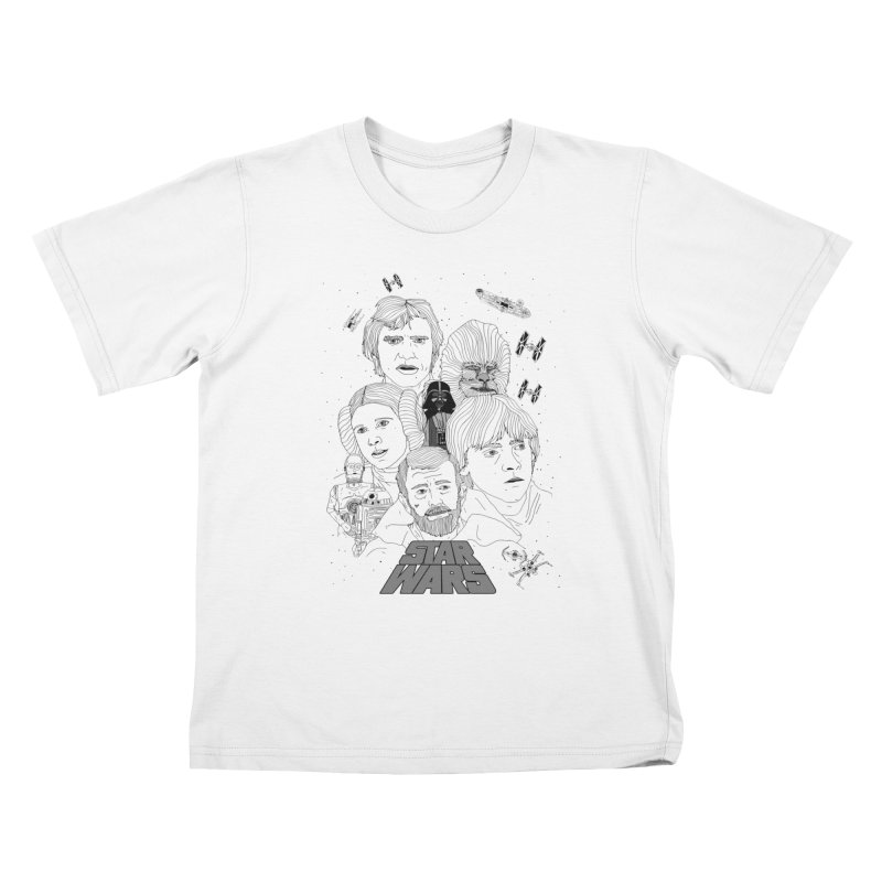 A New Hope Kids T-shirt by Jumo