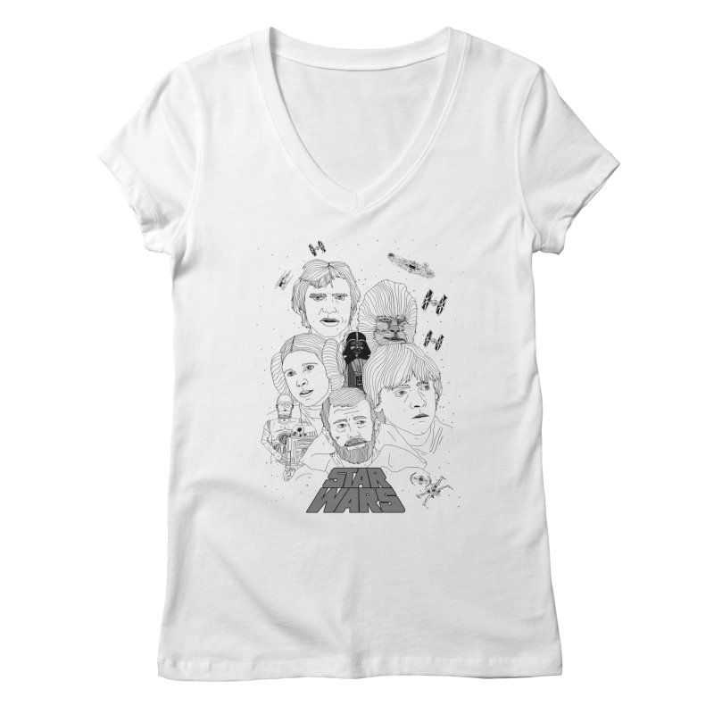A New Hope Women's V-Neck by Jumo