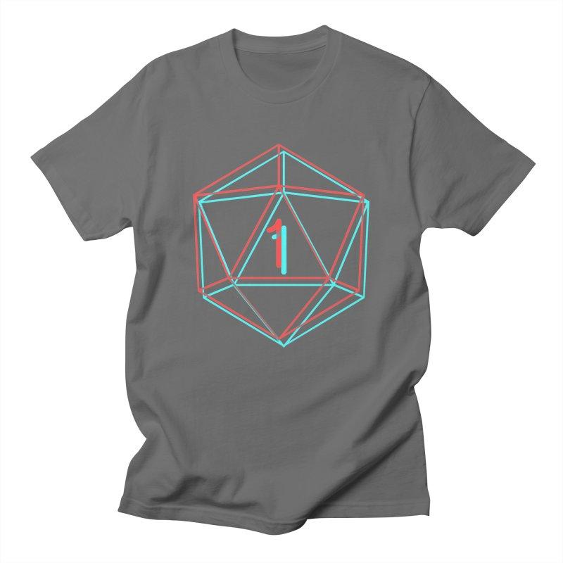 3D20 Men's T-Shirt by The Strange Pope's Stuff-Shack