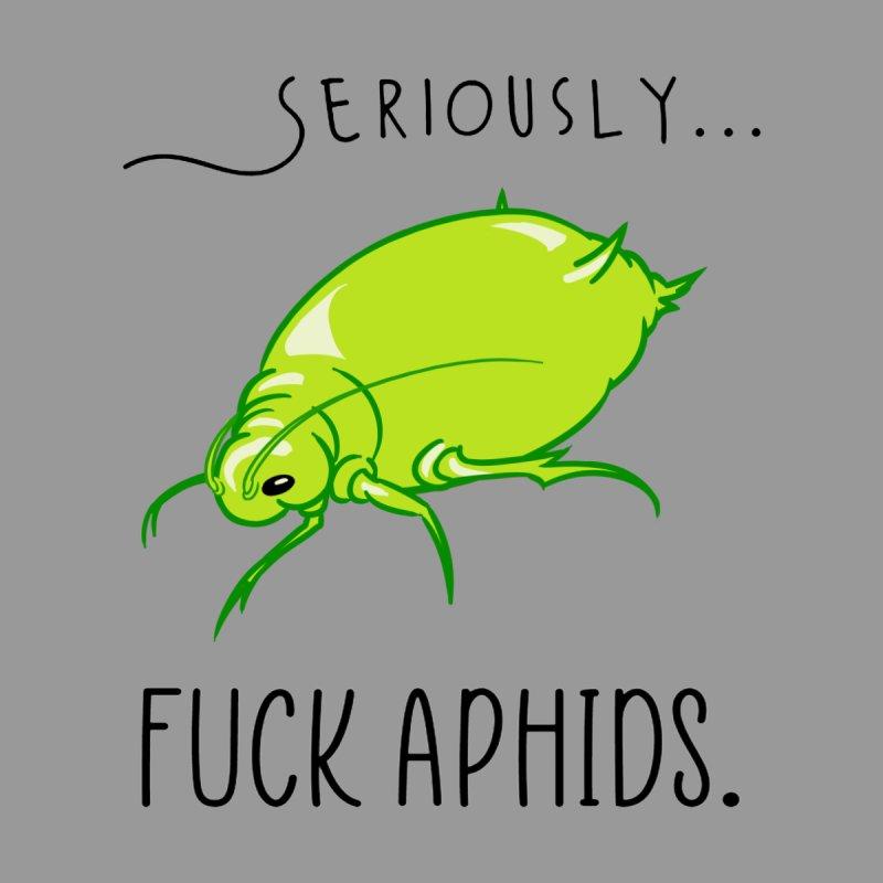 Fuck Aphids Men's Sweatshirt by The Strange Pope's Stuff-Shack