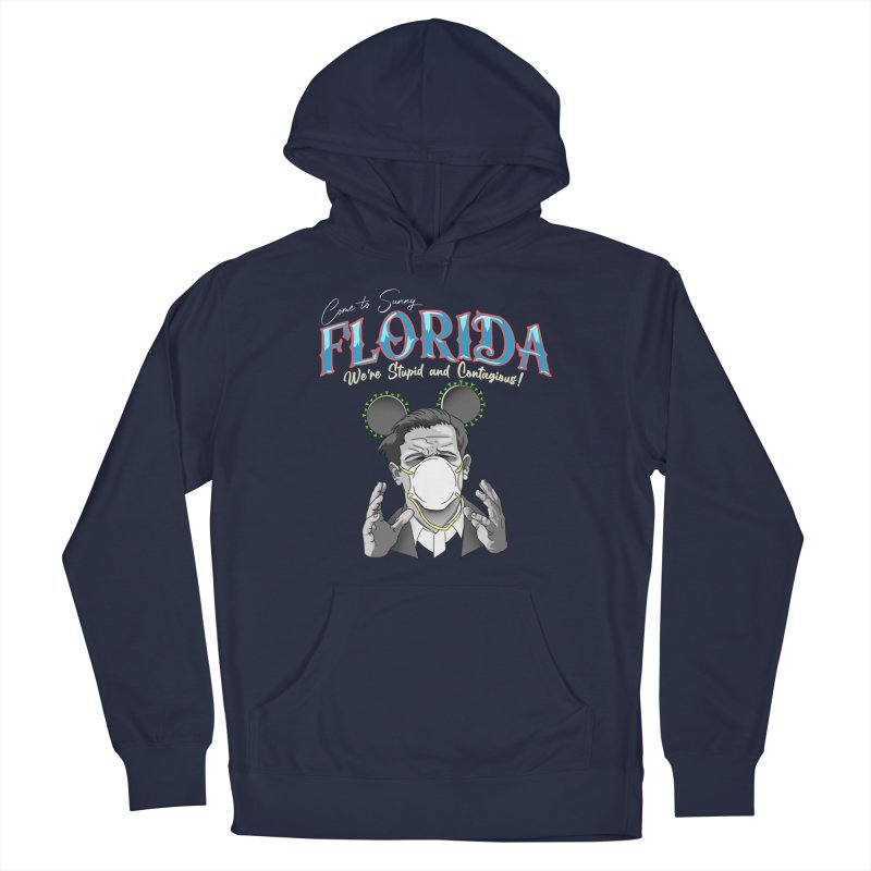 Stupid and Contagious Men's Pullover Hoody by The Strange Pope's Stuff-Shack