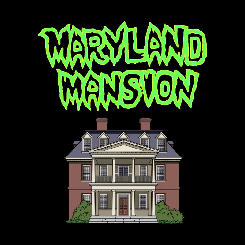 Maryland Mansion Home Framed Fine Art Print by The Strange Pope's Stuff-Shack