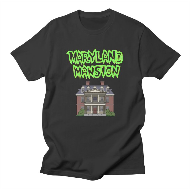 Maryland Mansion Men's T-Shirt by The Strange Pope's Stuff-Shack