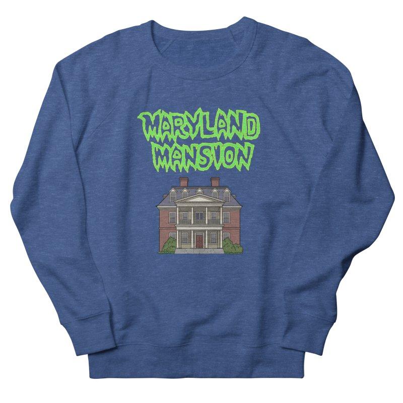 Maryland Mansion Men's Sweatshirt by The Strange Pope's Stuff-Shack