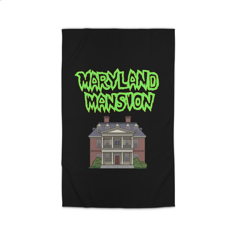 Maryland Mansion Home Rug by The Strange Pope's Stuff-Shack