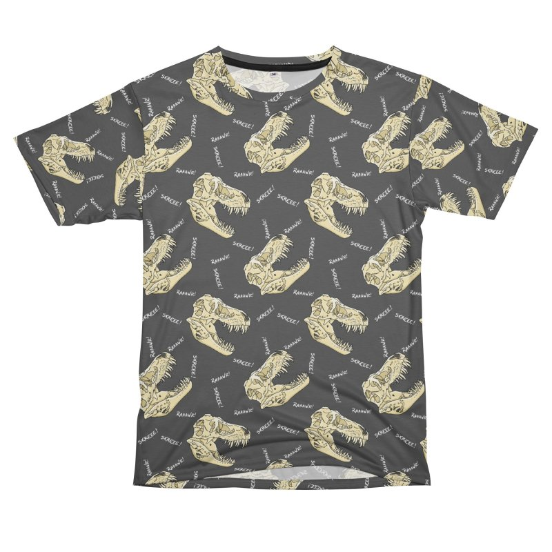 T-Rex Pattern Men's Cut & Sew by The Strange Pope's Stuff-Shack