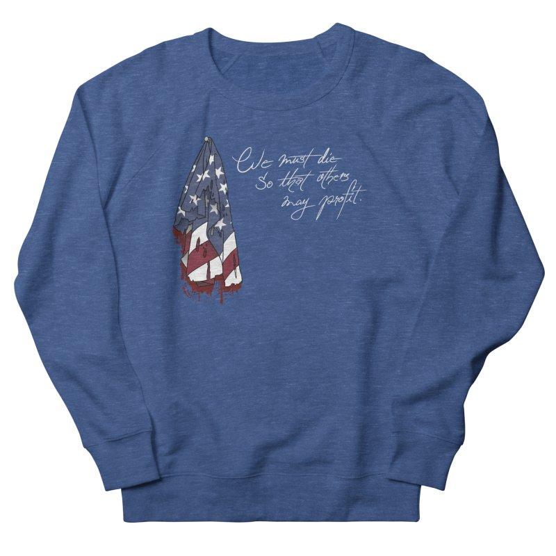 Boring Dystopia 1 Men's Sweatshirt by The Strange Pope's Stuff-Shack
