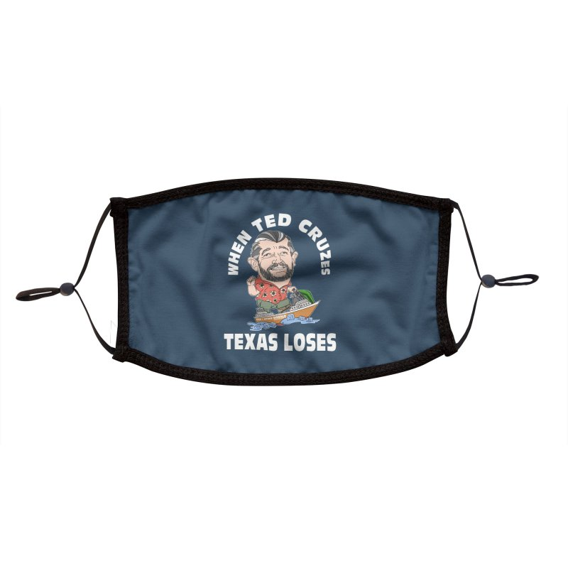 When Ted Cruzes Accessories Face Mask by The Strange Pope's Stuff-Shack