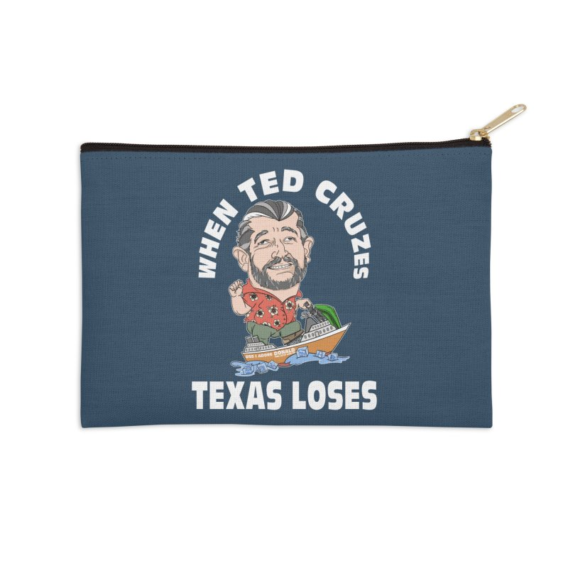 When Ted Cruzes Accessories Zip Pouch by The Strange Pope's Stuff-Shack
