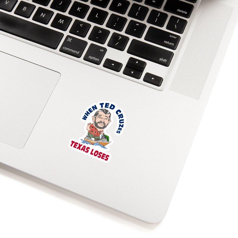 When Ted Cruzes (Sticker) Accessories Sticker by The Strange Pope's Stuff-Shack