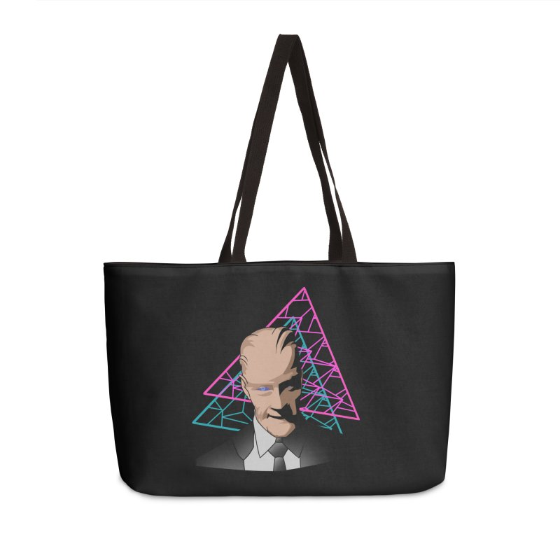 Head Room #1 Accessories Bag by The Strange Pope's Stuff-Shack