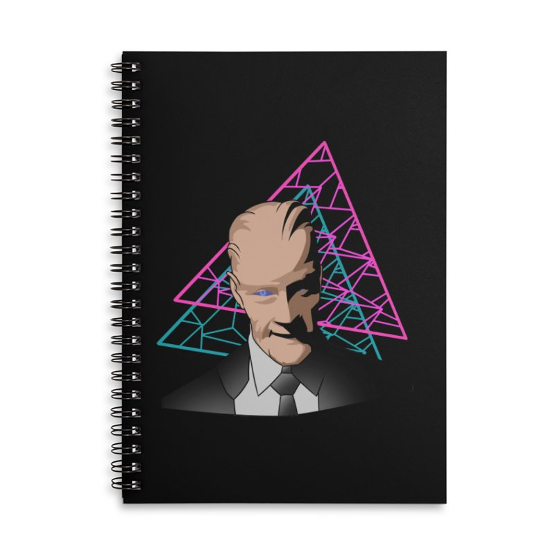 Head Room #1 Accessories Notebook by The Strange Pope's Stuff-Shack