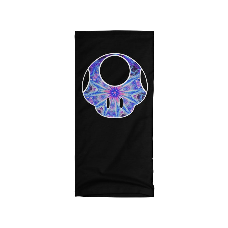 Psychedelic Power-Up Accessories Neck Gaiter by The Strange Pope's Stuff-Shack