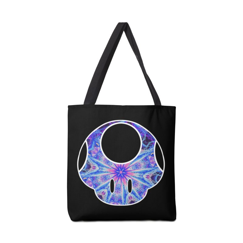 Psychedelic Power-Up Accessories Bag by The Strange Pope's Stuff-Shack