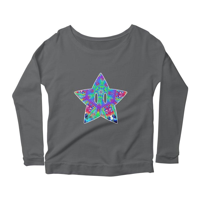 Psychedelic Star Women's Longsleeve T-Shirt by The Strange Pope's Stuff-Shack