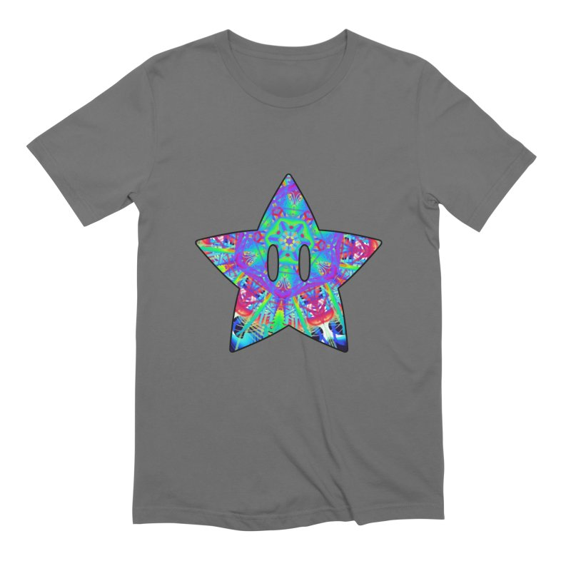 Psychedelic Star (For Light Colors) Men's T-Shirt by The Strange Pope's Stuff-Shack
