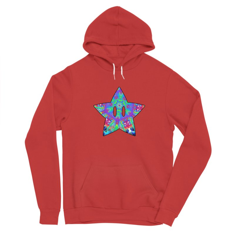 Psychedelic Star (For Light Colors) Men's Pullover Hoody by The Strange Pope's Stuff-Shack