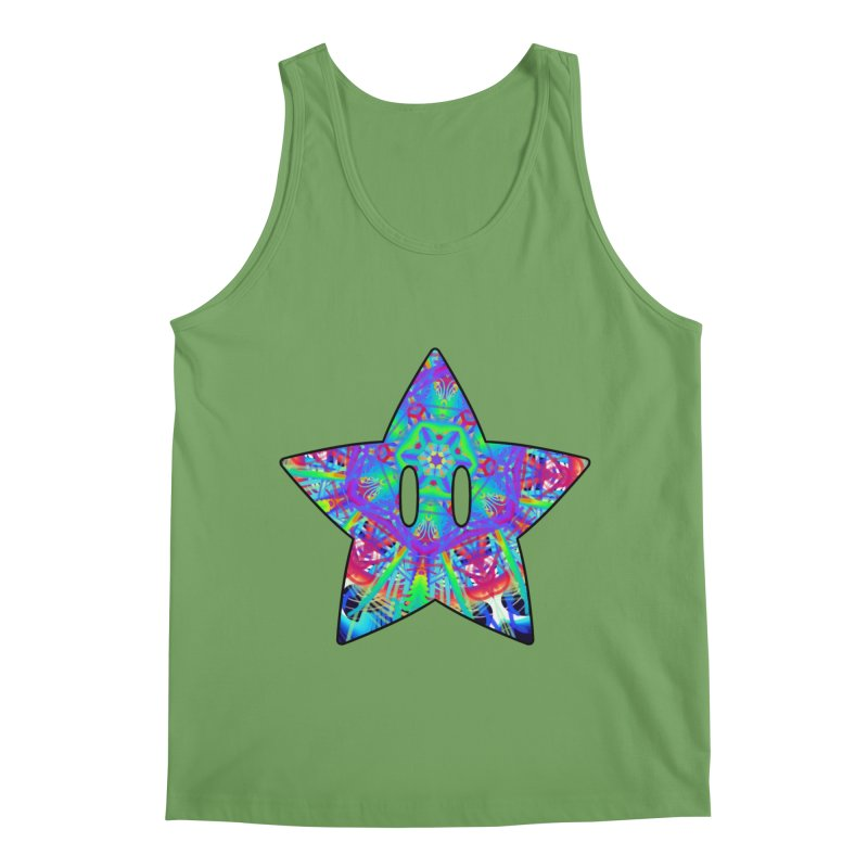 Psychedelic Star (For Light Colors) Men's Tank by The Strange Pope's Stuff-Shack