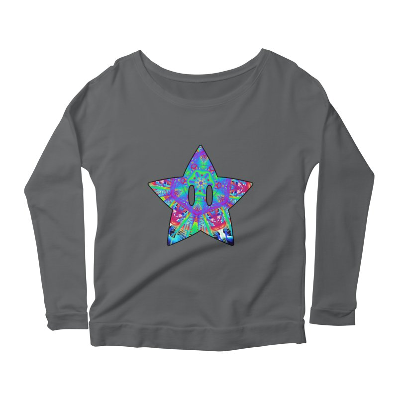 Psychedelic Star (For Light Colors) Women's Longsleeve T-Shirt by The Strange Pope's Stuff-Shack