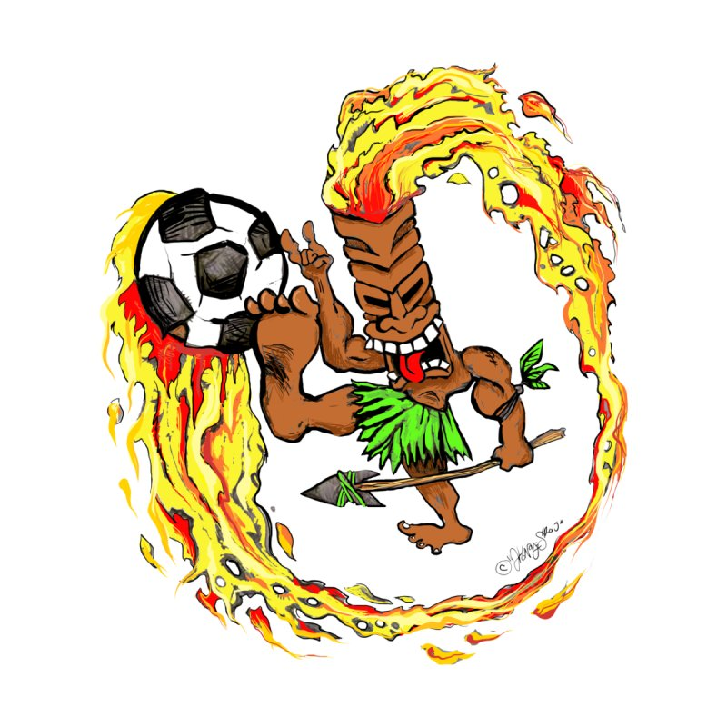 Soccer Tiki by Justin Kingsley Noyes - Illustration Nation