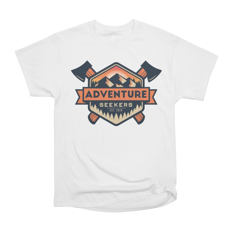 Adventure Seekers Women's Heavyweight Unisex T-Shirt by Justin Oden's Artist Shop