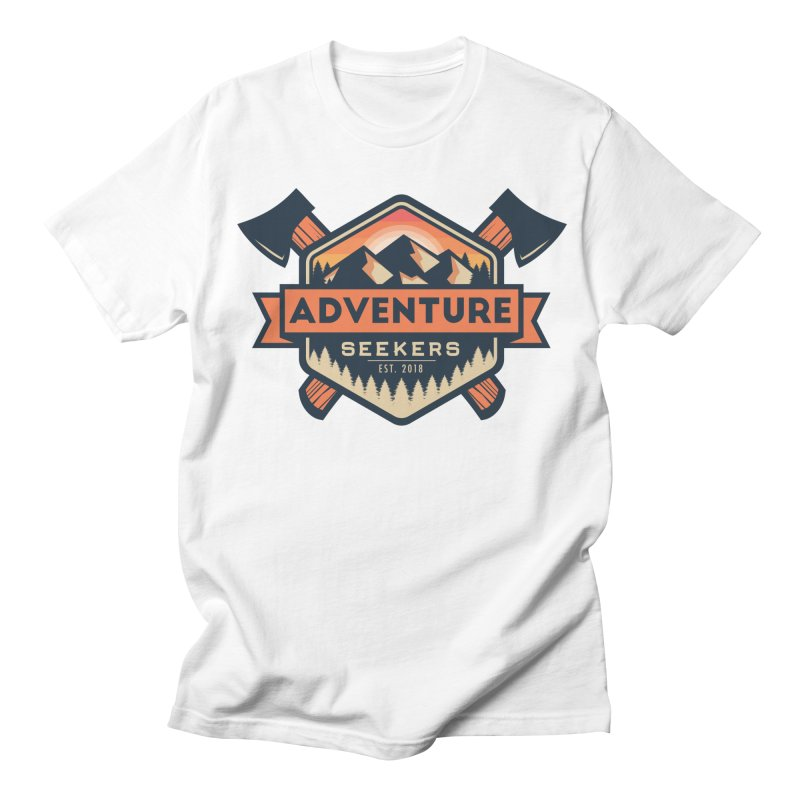 Adventure Seekers Men's Regular T-Shirt by Justin Oden's Artist Shop