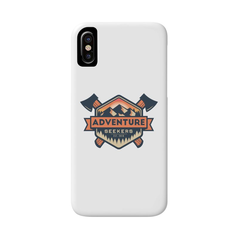 Adventure Seekers Accessories Phone Case by Justin Oden's Artist Shop