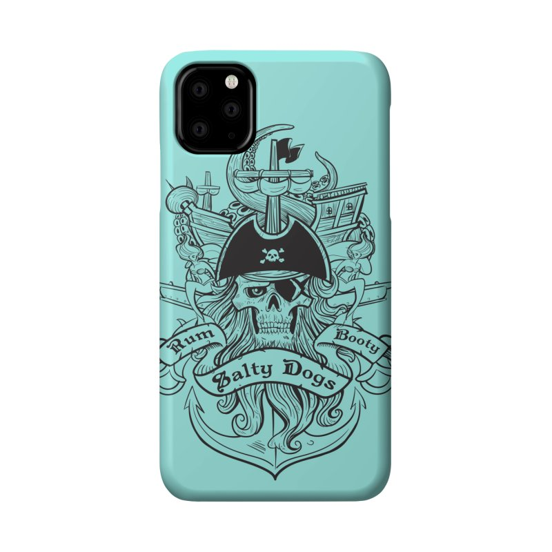 Salty Dogs Accessories Phone Case by Justin Oden's Artist Shop
