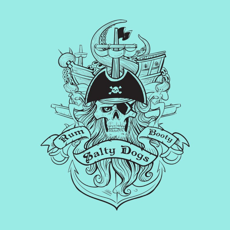 Salty Dogs by Justin Oden's Artist Shop