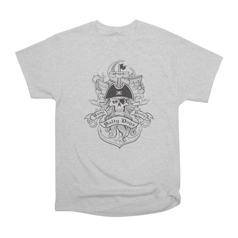 Salty Dogs Women's Heavyweight Unisex T-Shirt by Justin Oden's Artist Shop