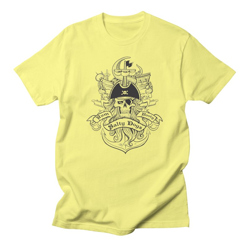 Salty Dogs Men's T-Shirt by Justin Oden's Artist Shop