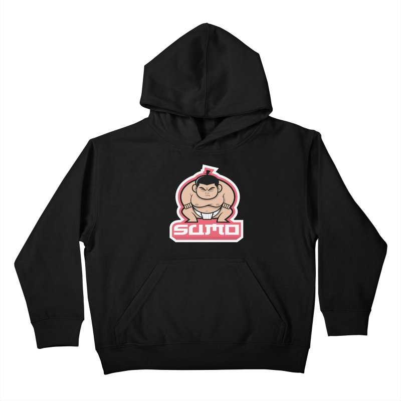 Sumo Kids Pullover Hoody by Justin Oden's Artist Shop