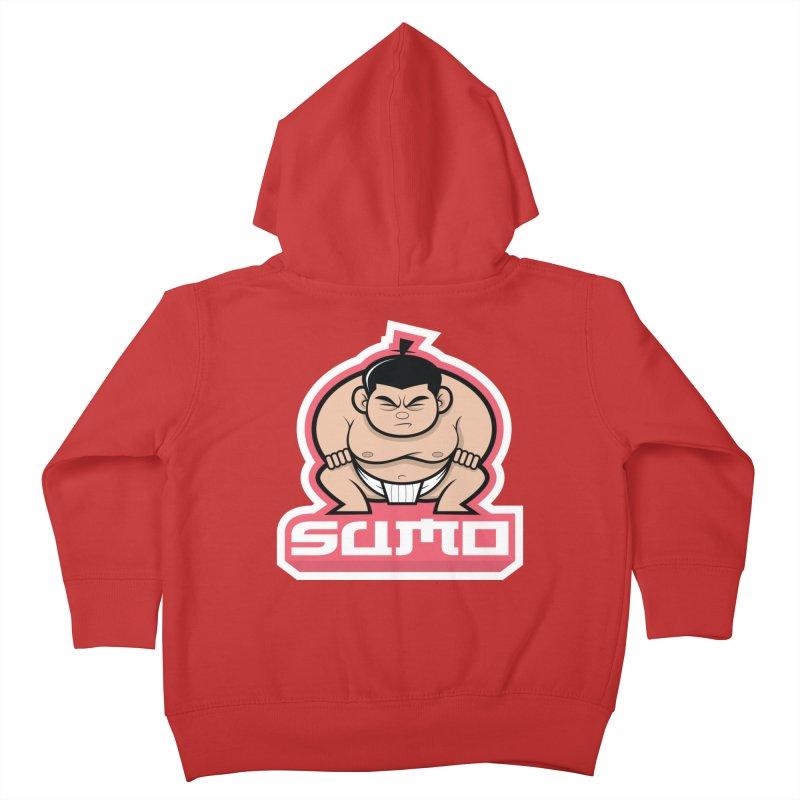 Sumo Kids Toddler Zip-Up Hoody by Justin Oden's Artist Shop