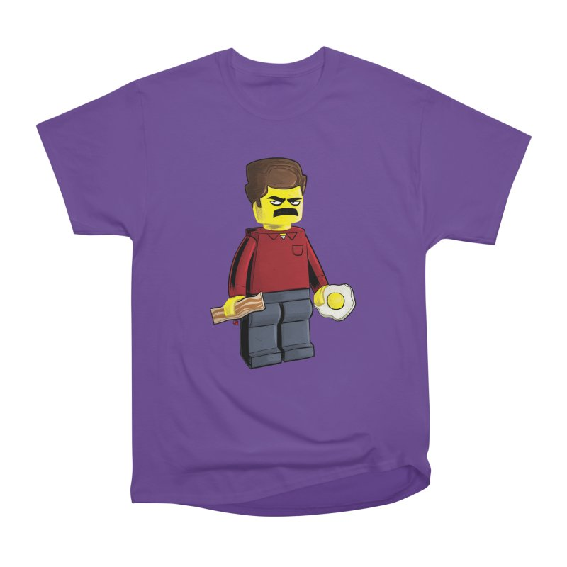 Lego Ron Men's Heavyweight T-Shirt by Justin Peterson