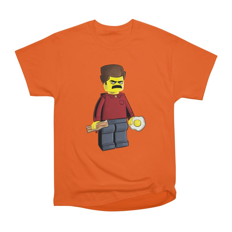 Lego Ron Women's Heavyweight Unisex T-Shirt by Justin Peterson