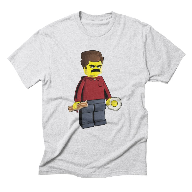 Lego Ron Men's Triblend T-Shirt by Justin Peterson