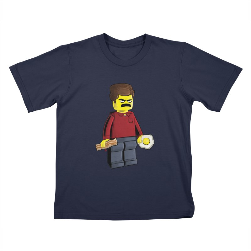 Lego Ron Kids T-Shirt by Justin Peterson