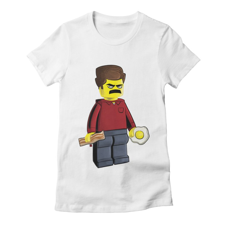 Lego Ron Women's Fitted T-Shirt by Justin Peterson