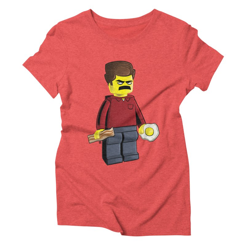 Lego Ron Women's Triblend T-Shirt by Justin Peterson