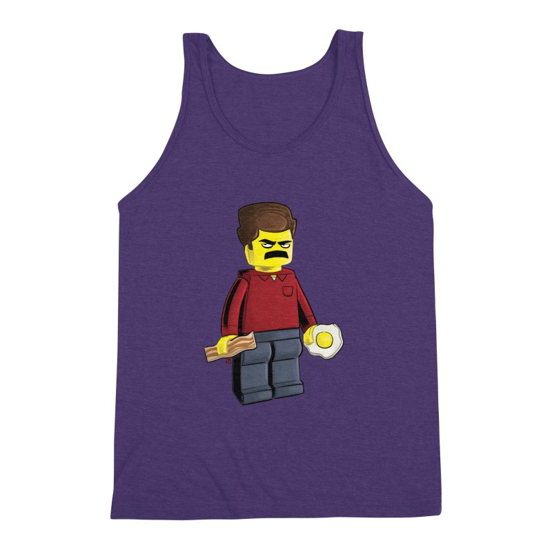 Lego Ron Men's Triblend Tank by Justin Peterson