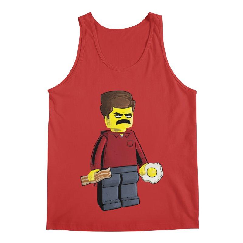Lego Ron Men's Regular Tank by Justin Peterson