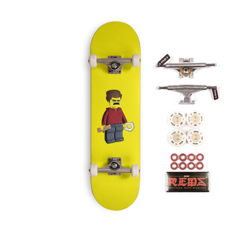 Lego Ron Accessories Complete - Pro Skateboard by Justin Peterson