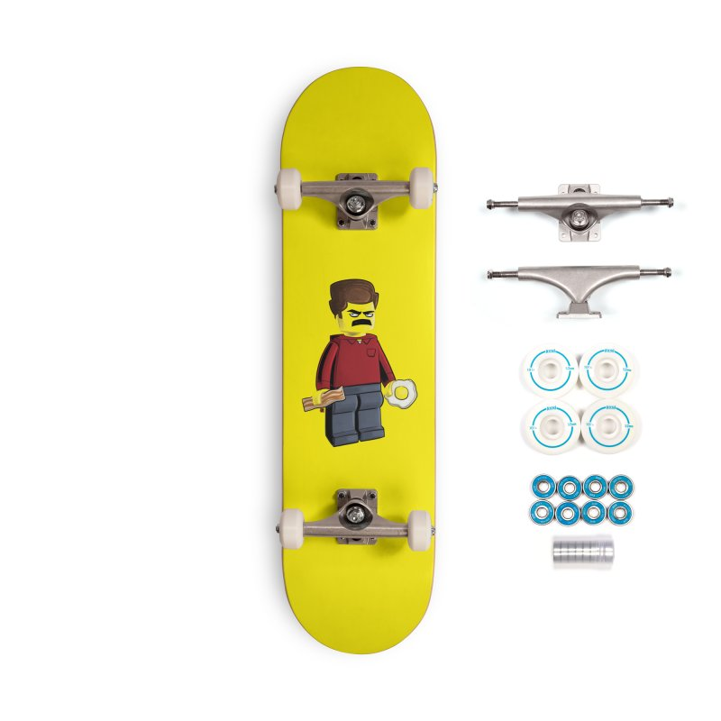 Lego Ron Accessories Complete - Basic Skateboard by Justin Peterson