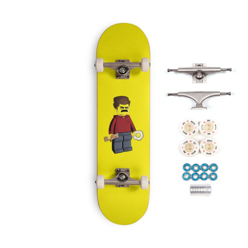 Lego Ron Accessories Complete - Premium Skateboard by Justin Peterson