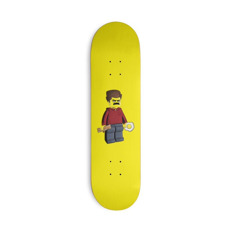 Lego Ron Accessories Deck Only Skateboard by Justin Peterson