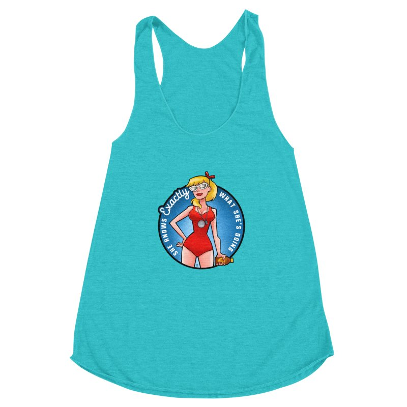 Wendy Women's Racerback Triblend Tank by Justin Peterson