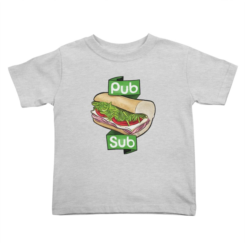 Pub Sub Kids Toddler T-Shirt by Justin Peterson