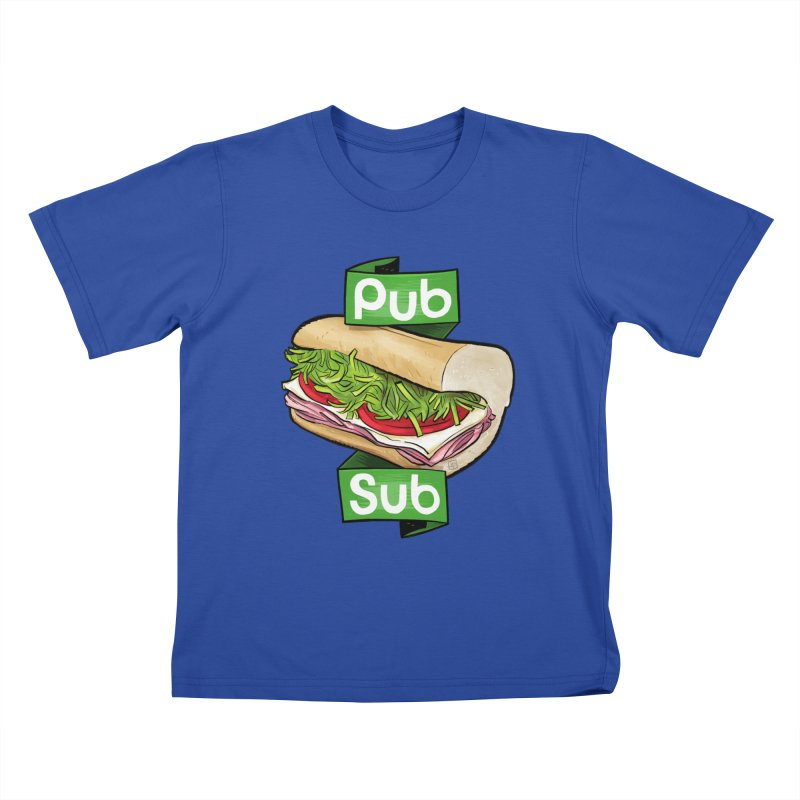 Pub Sub Kids T-Shirt by Justin Peterson